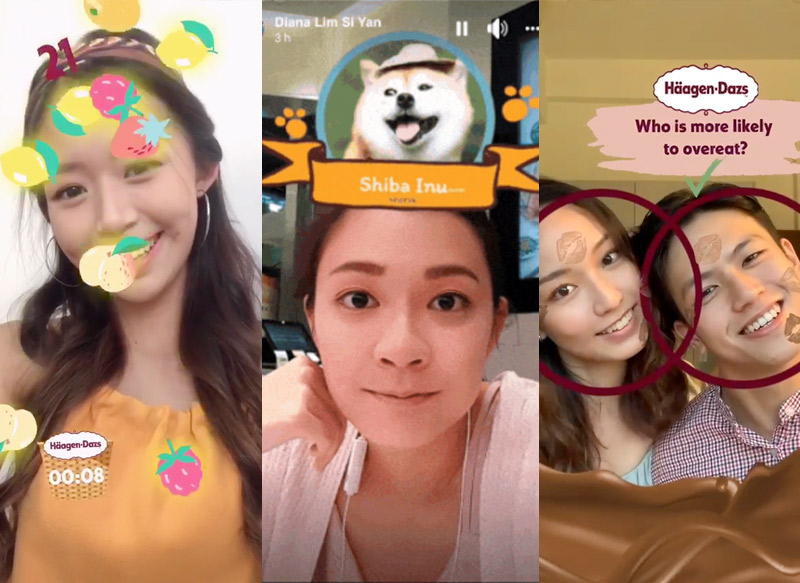 Instagram Augmented Reality (AR) Filters and Games for Marketing Campaigns