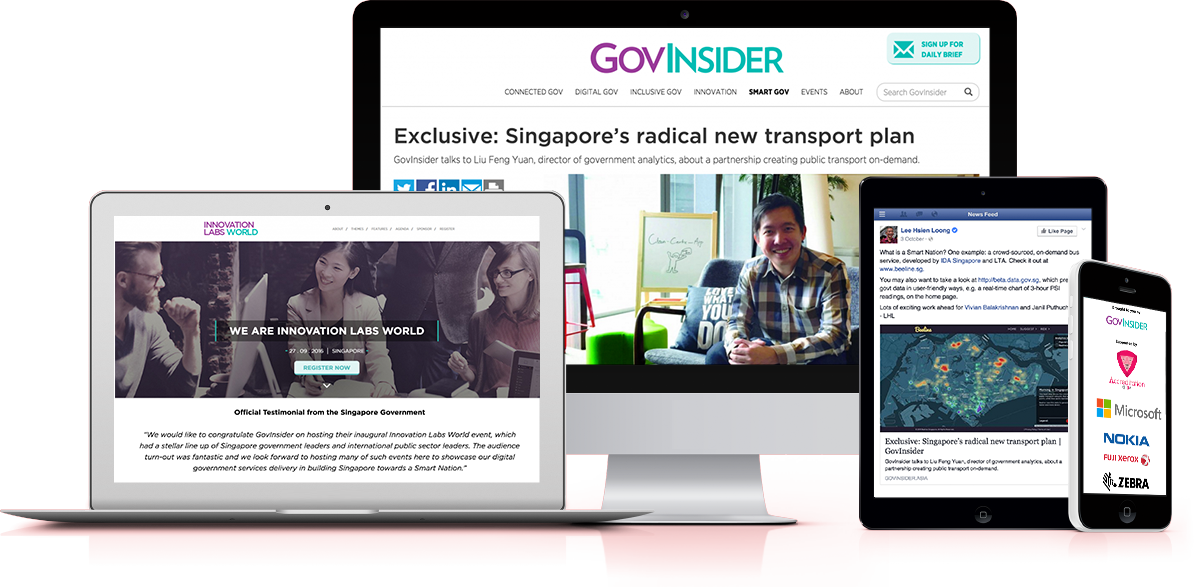 Searix built the GovInsider e-Journalism platform