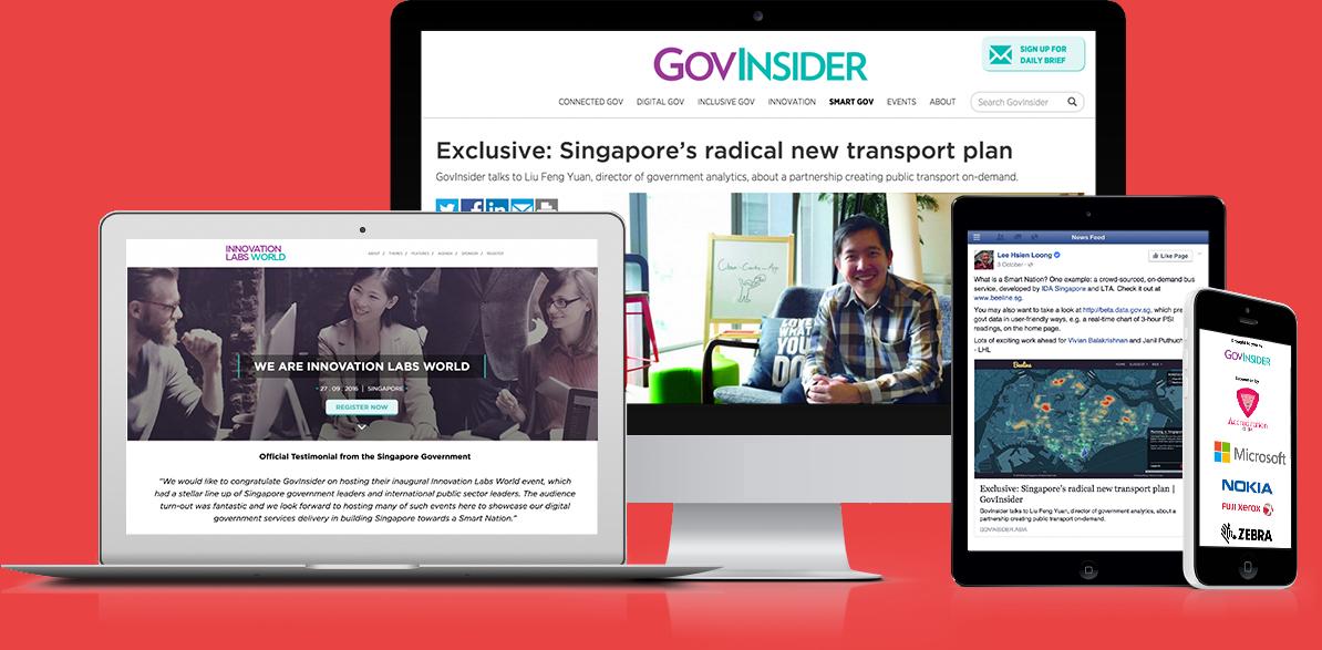 Searix built the GovInsider e-Journalism platform