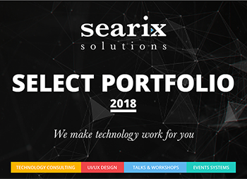 Searix Solutions Portfolio Cover Page