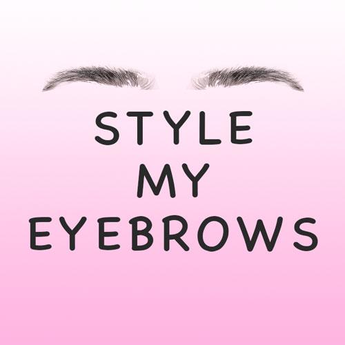 Instagram AR Filter Style My Eyebrows