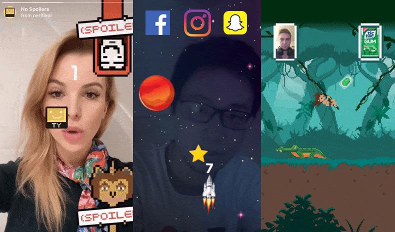 Instagram AR Game Filter Ideas
