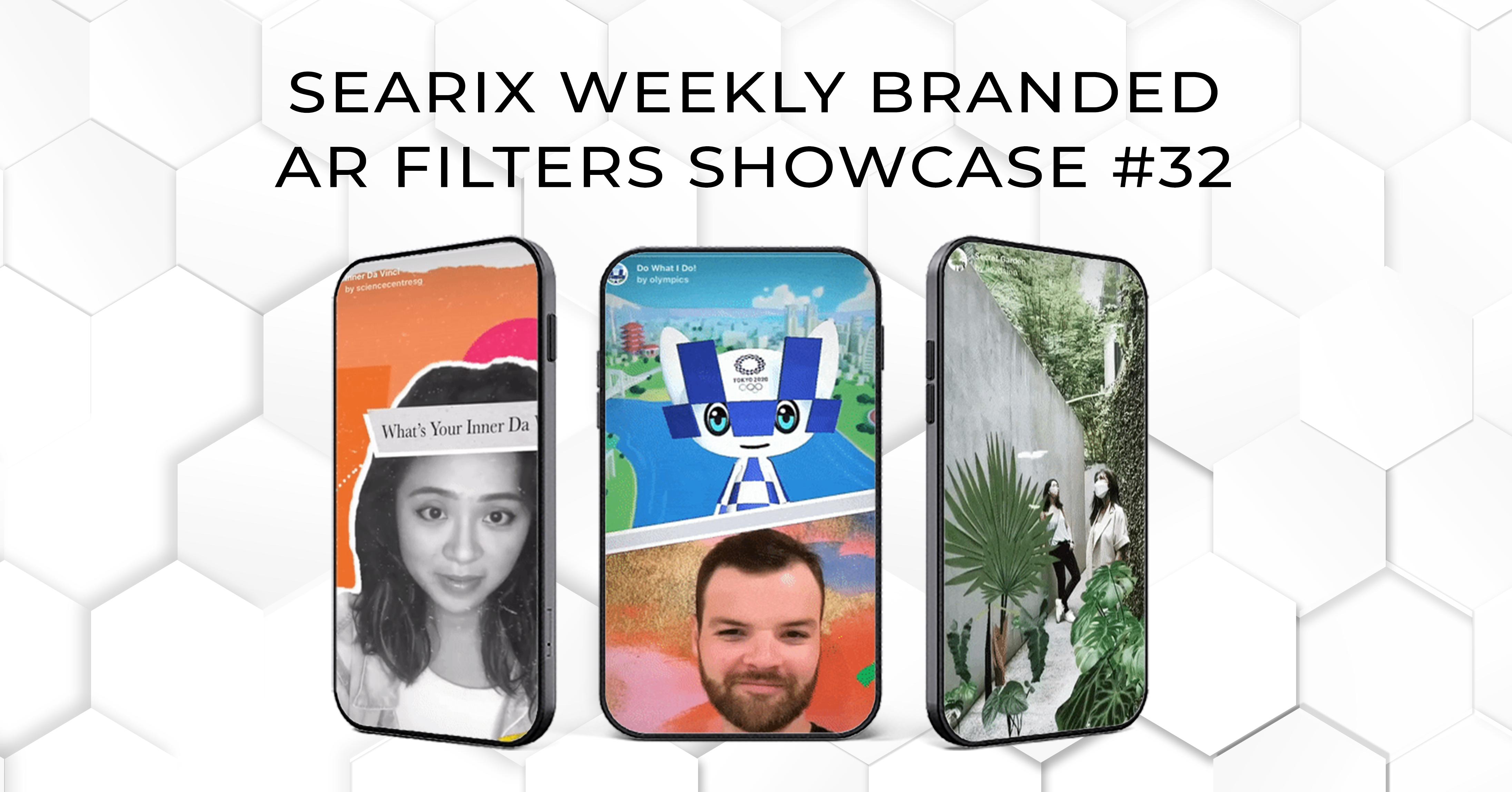 Searix Weekly Branded AR Filters Showcase